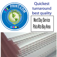 Corrugated Plastic Color Signs & Boards Printing