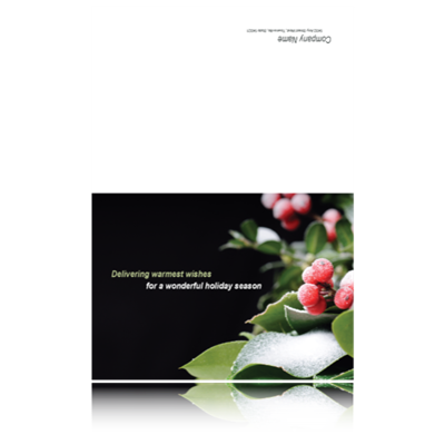 35% OFF 5x7 Folded Christmas Photo Holiday Cards.