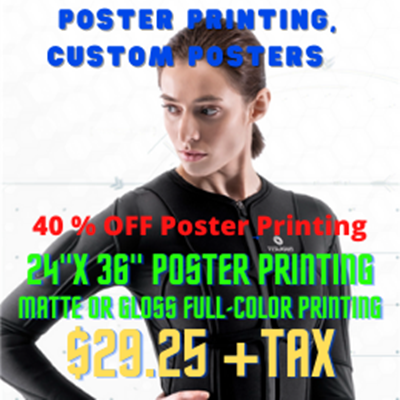 40% OFF Poster Printing,
