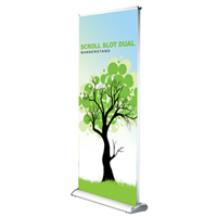 Banner Stand Retractable SS Dual Palo Alto CA