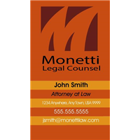 Business Card - Legal