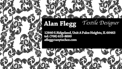 Business Card - Textile