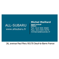 Business Card - Blue