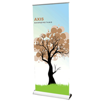 Banner Stand Retractable Axis Palo Alto CA