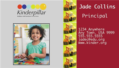 Business Card - Preschool