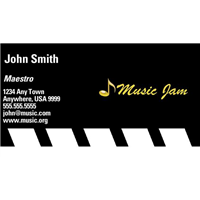 Business Card - Music