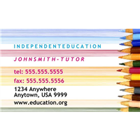 Business Card - Education