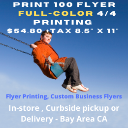 Flyer Printing - Business Flyers, Club Flyers & More