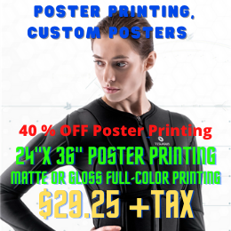 Poster Printing, Custom Posters | up2uprint